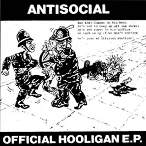 antisocial - official hooligan ep