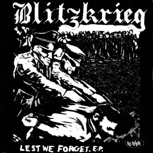 blitzkrieg - lest we forget - front