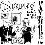 disrupters - shelters for the rich ep